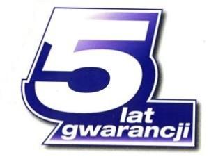 5lat gwarancji